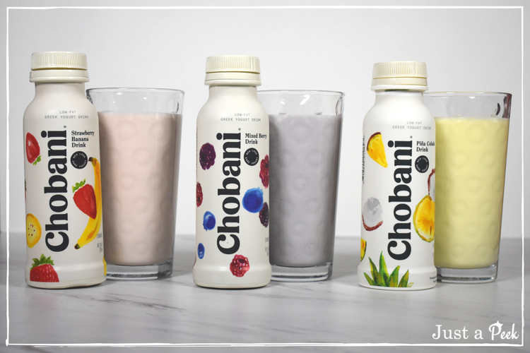 Chobani Yogurt drinks