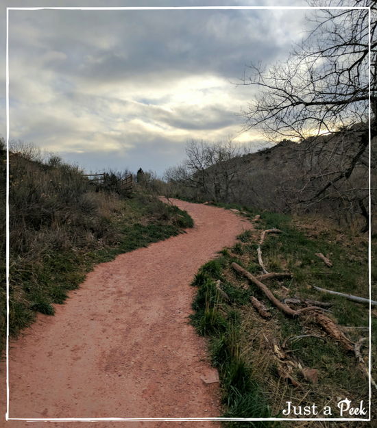 Colorado hike trail