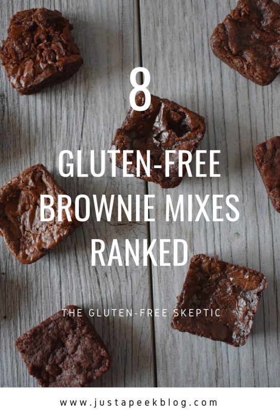 Gluten Free Brownie Mixes Tested and Reviewed Pinterest