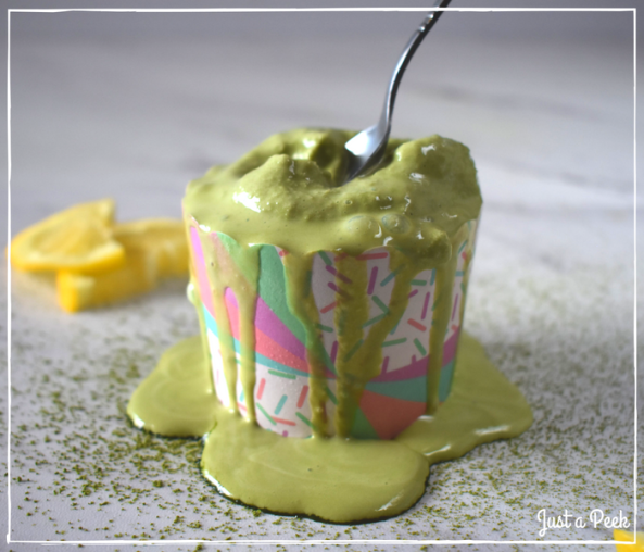 matcha lemonade frozen yogurt copycat pinkberry 5