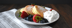 Japanese Fluffy Souffle Pancakes Gluten Free Recipe Featured 2