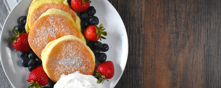 Japanese Fluffy Souffle Pancakes Gluten Free Recipe Featured