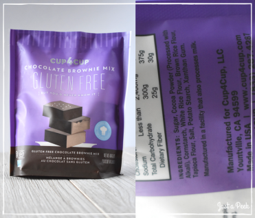 cup4cup review gluten free brownie box