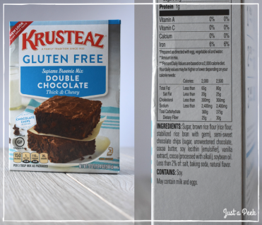 Krusteaz review gluten free brownie box