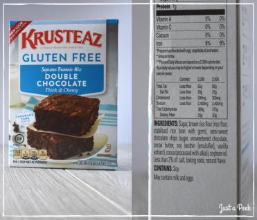Krusteaz review gluten free brownie box