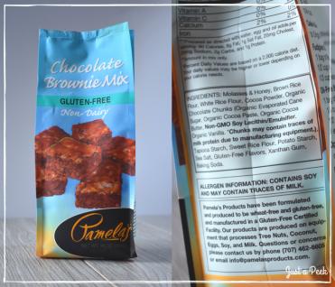 Pamelas review gluten free brownie box