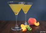 unusual flavors combination drink alcohol gin peach jalapeno