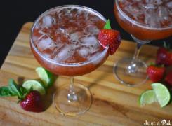 strawberry basil margarita recipe