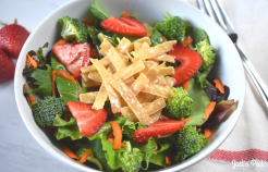 Strawberry Summer Salad Recipe pic