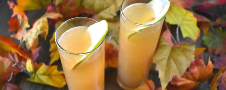 Fall Cocktails Alcohol Drink Pear Spiced Bourbon