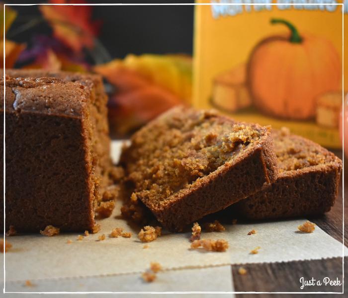 Trader Joe's Pumpkin Bread Gluten Free Taste Test 1