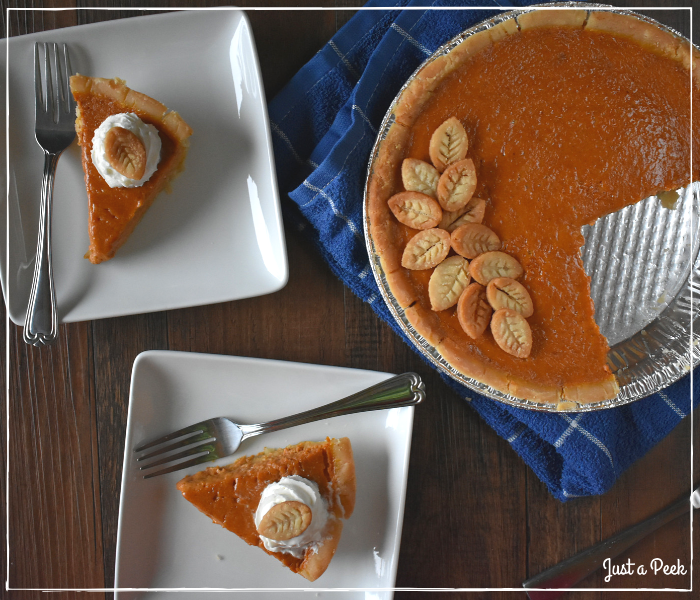 Traditional Family Recipe Pumpkin Pie 2