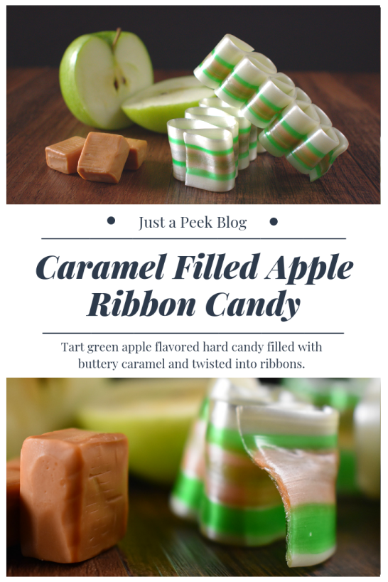 Caramel Filled Apple Flavored Ribbon Candy Recipe