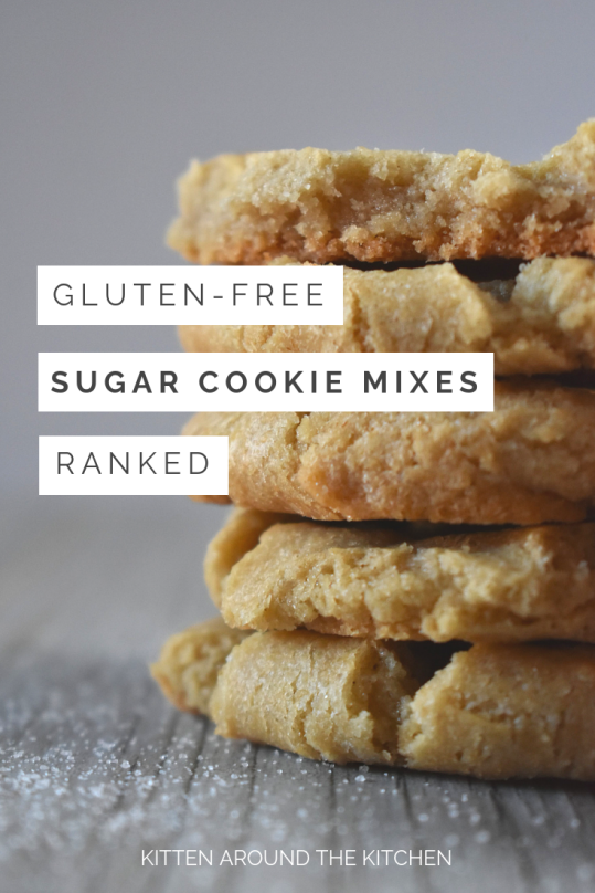 Gluten Free Sugar Cookie Taste Test and Review