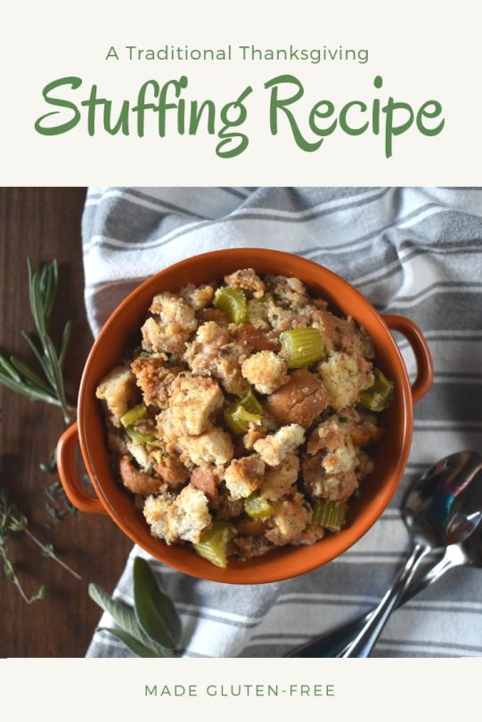 Traditional Stuffing Recipe Pinterest