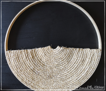 DIY Cat Round Wall Hanging Scratching Post 14