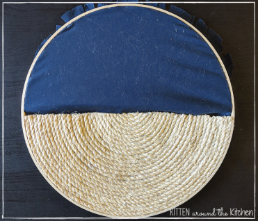 DIY Cat Round Wall Hanging Scratching Post 20