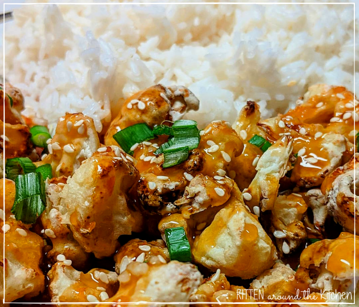 orange chicken Chinese food