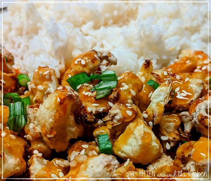 orange chicken Chinese food
