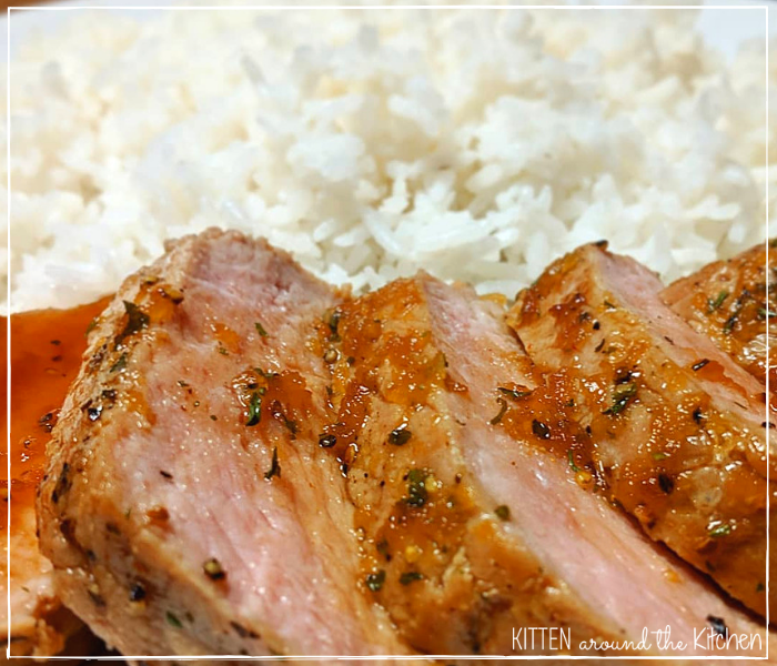 Honey Garlic Roasted Pork Tenderloin